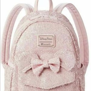 Loungefly Disney Minnie Millennial Pink Backpack